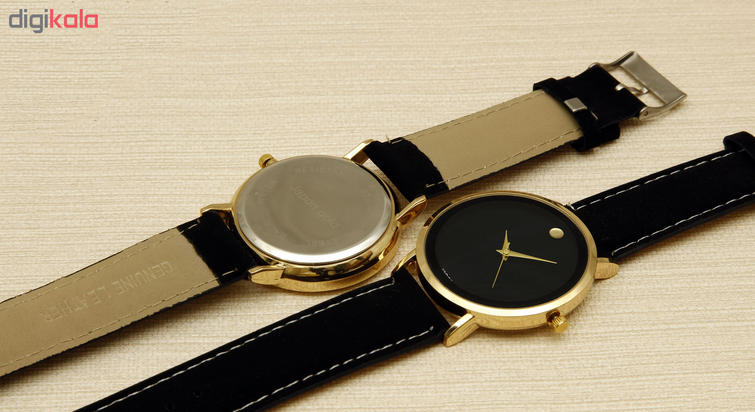 ساعت مچی عقربه ای ژاپن گلد مدل GS-P1800