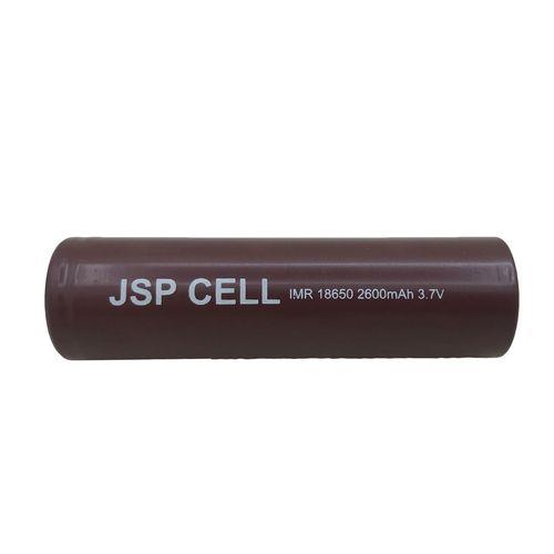 باتری لیتیوم یون قابل شارژ جی اس پی مدل ICR18650-10C ظرفیت 2600 میلی آمپر