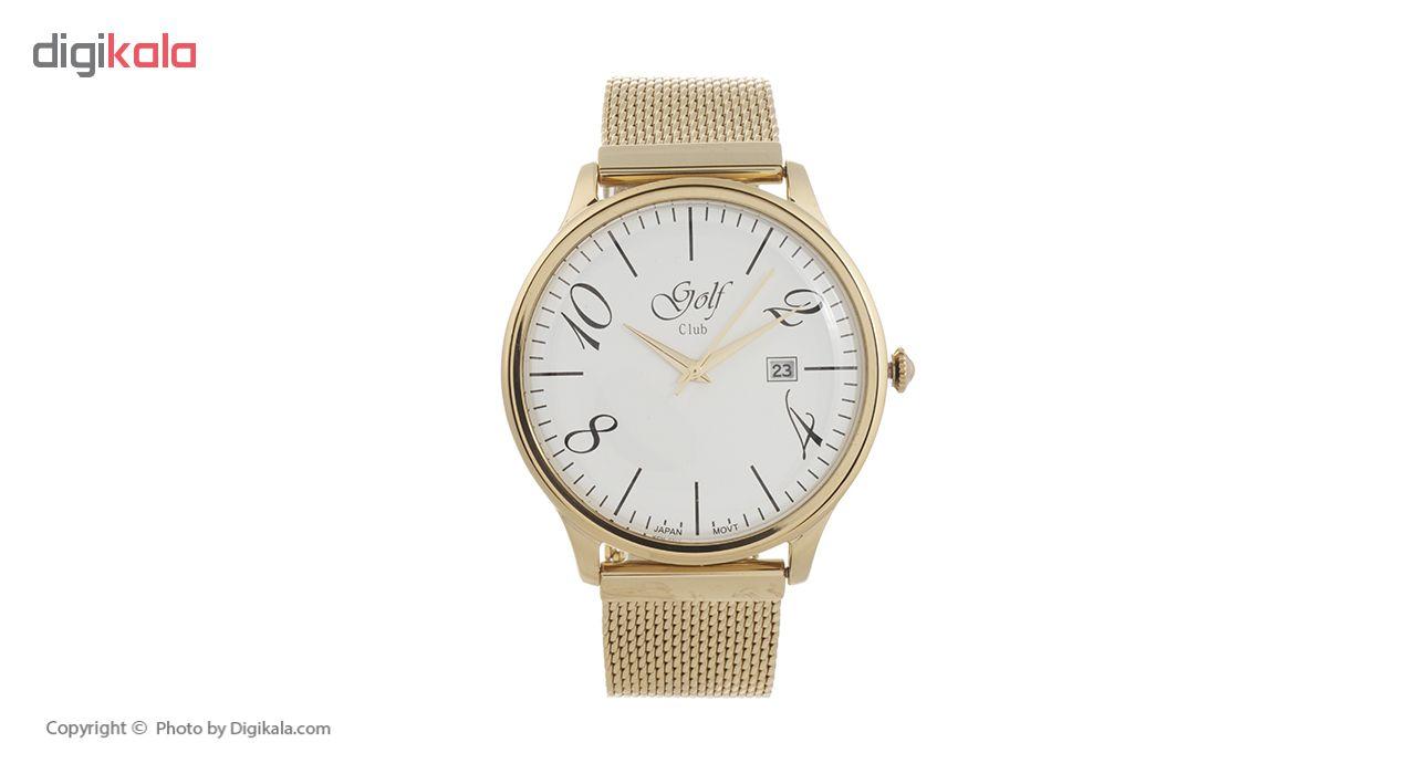 خرید ساعت مچی عقربه ای مردانه گلف کلاب مدل 121-2
