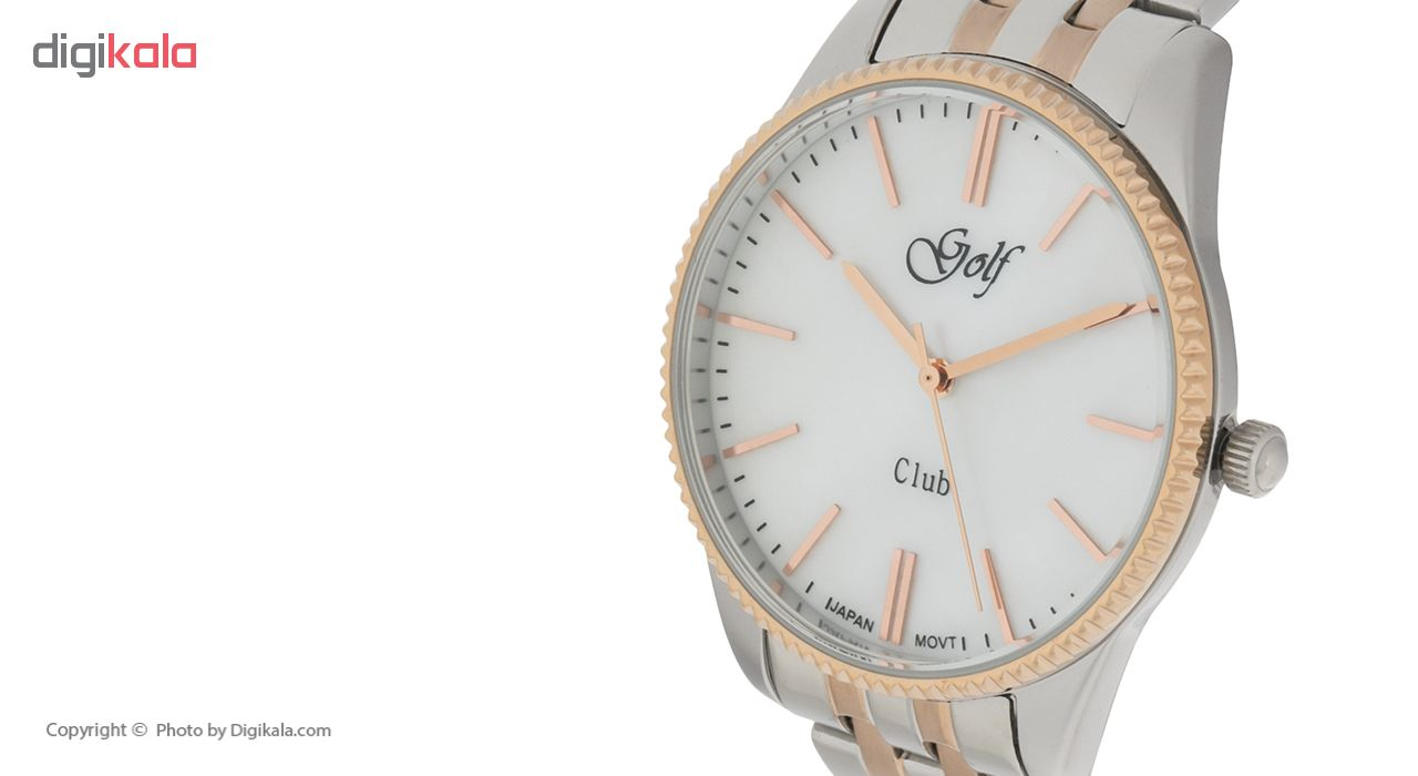 ساعت مچی عقربه ای زنانه گلف مدل 129-1