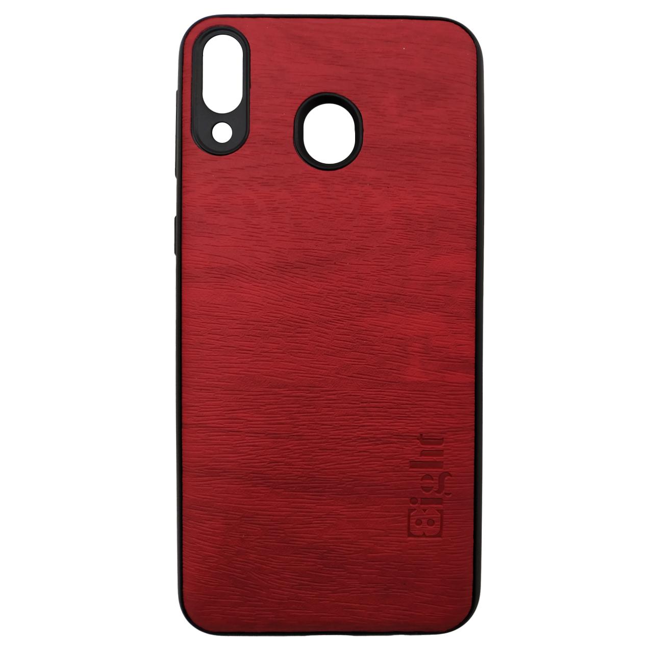 کاور ایت مدل طرح چوب مناسب برای گوشی موبایل سامسونگ Galaxy M20