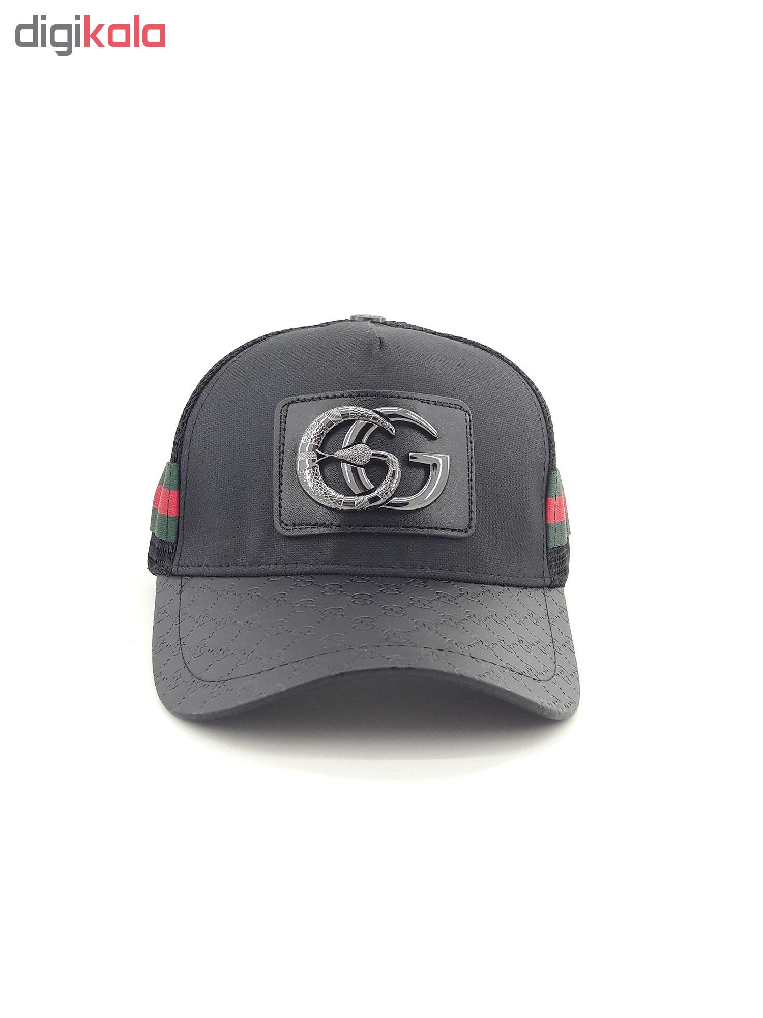 کلاه کپ مردانه مدل Gc.bl-01