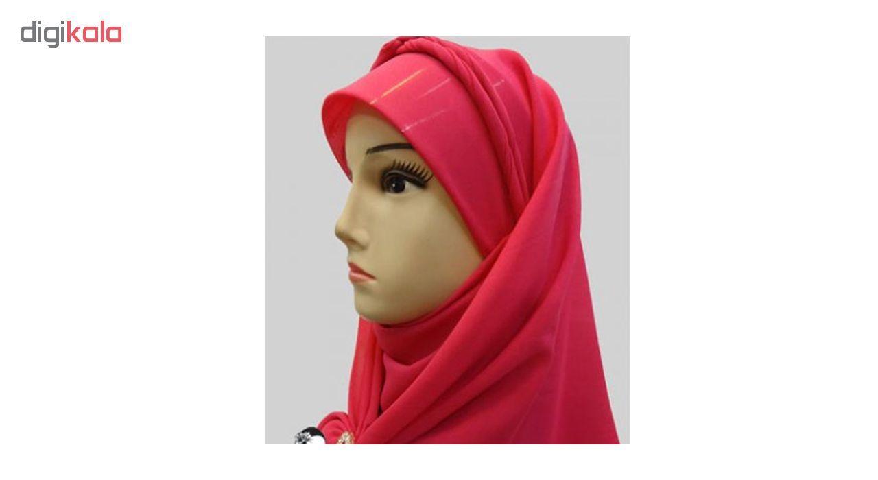 طلق روسری کد 7585 بسته 2 عددی تک سایز main 1 3