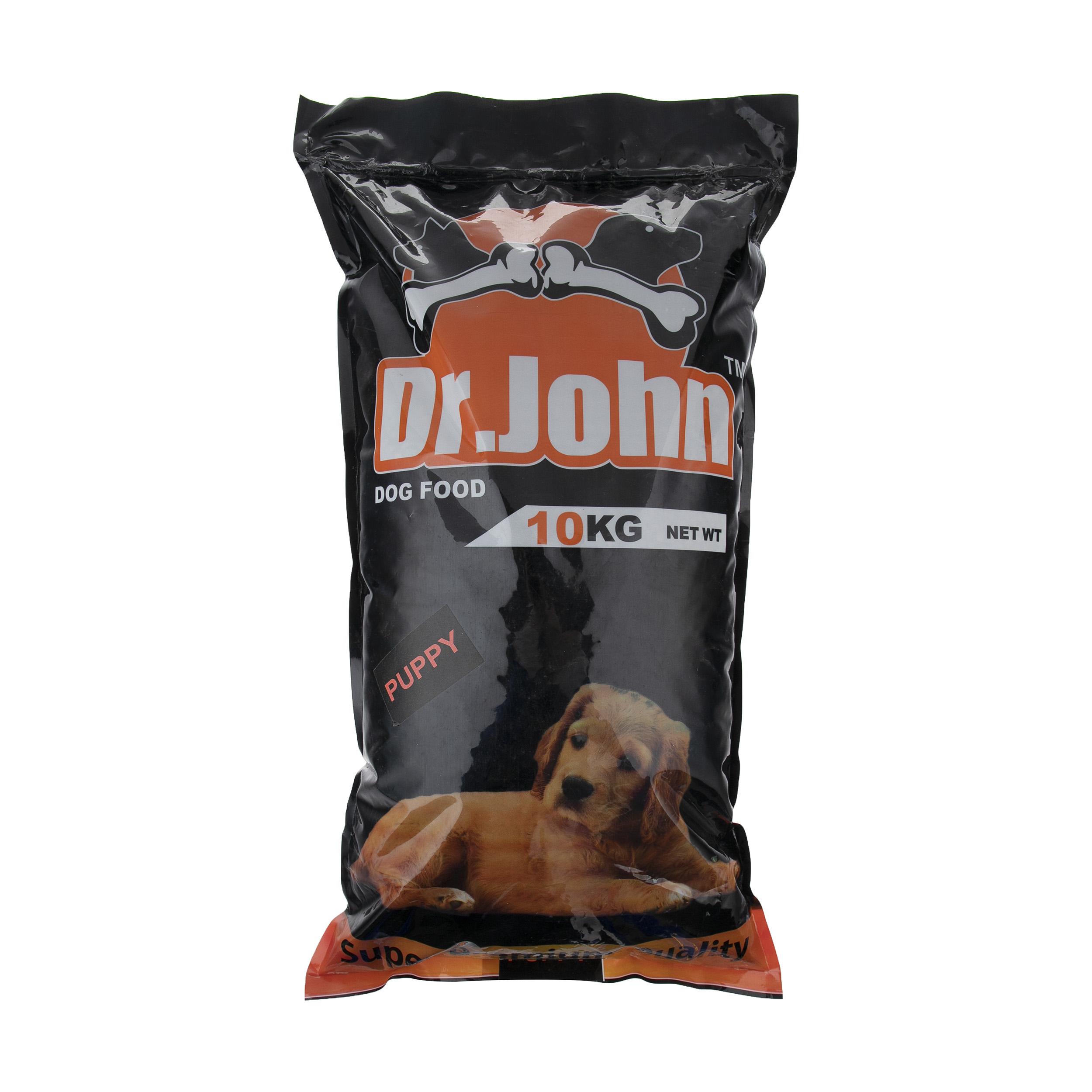 غذای خشک سگ دکتر جان مدل Puppy مقدار 10 کیلوگرم
