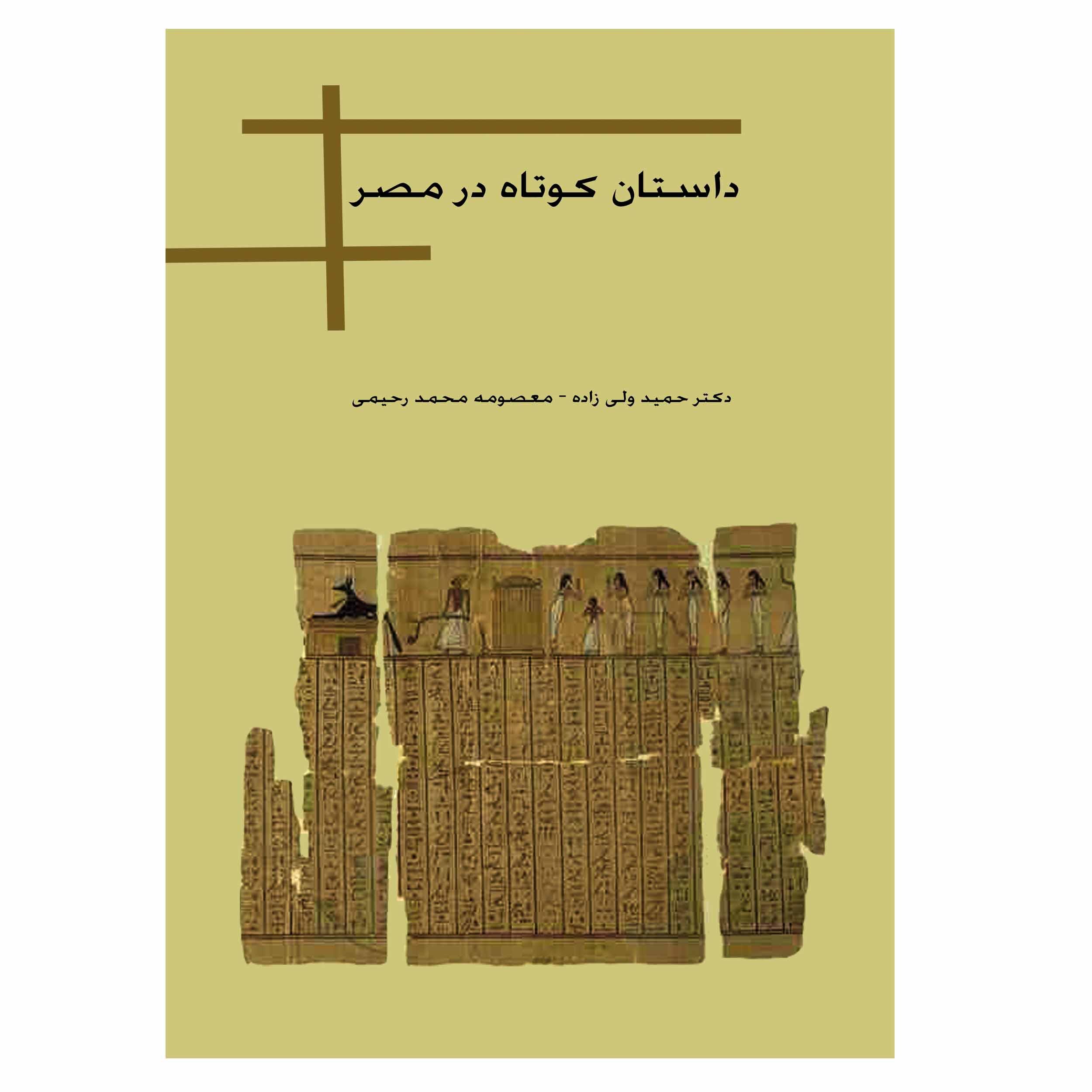 کتاب داستان کوتاه در مصر اثر دکتر حمید ولی زاده - معصومه محمد رحیمی انتشارات ایده نو