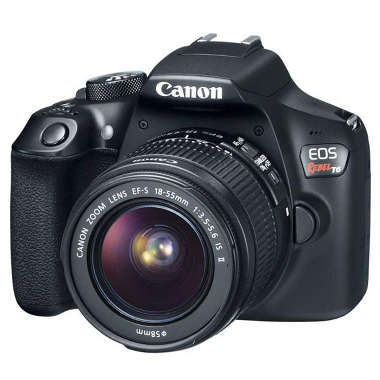 دوربین دیجیتال کانن مدل Eos Rebel T6 به همراه لنز 18-55 میلی متر II IS