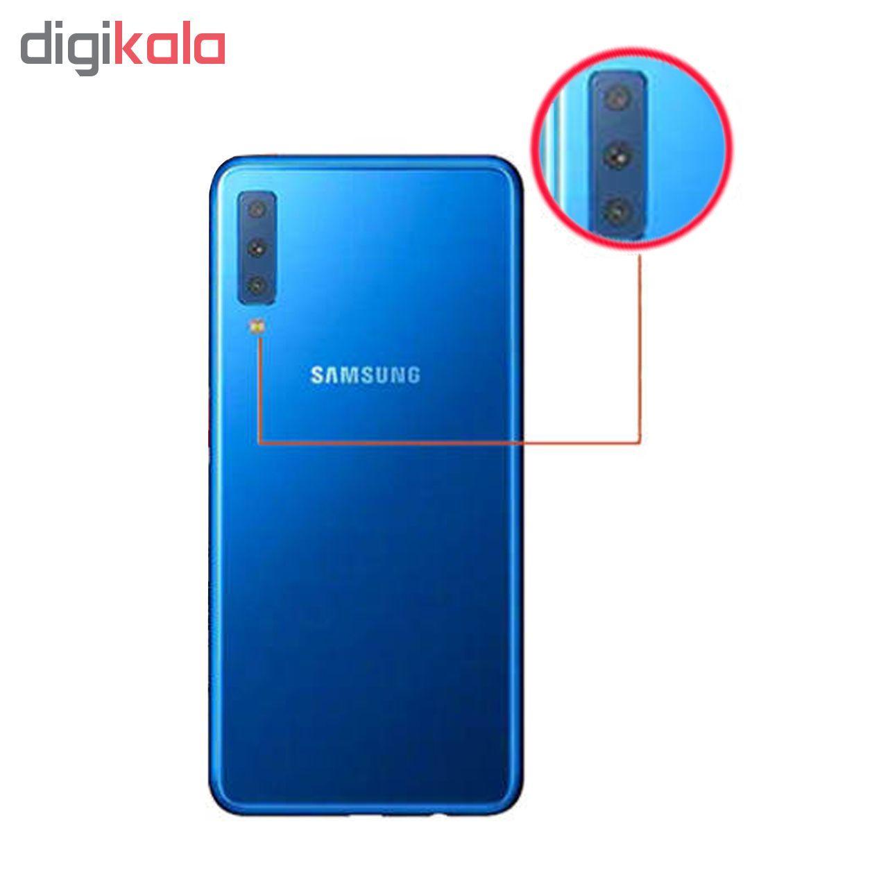 محافظ لنز دوربین مدل G-002 مناسب برای گوشی موبایل سامسونگ Galaxy A7 2018 main 1 1