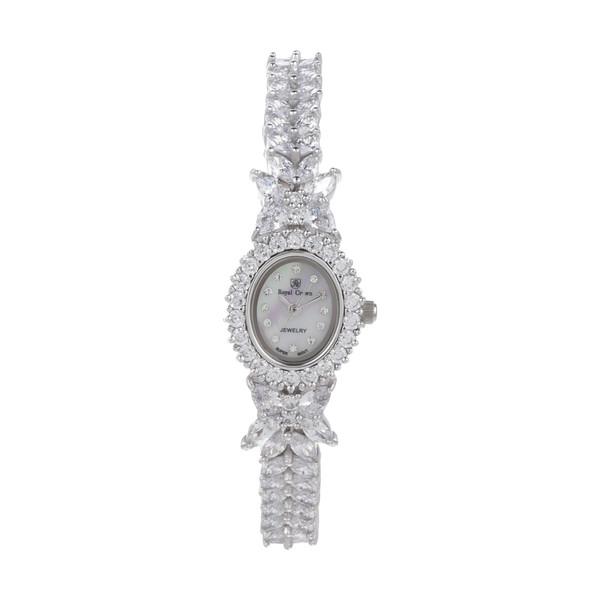 ساعت مچی عقربه ای نقره زنانه رویال کرون مدل RC2527-1