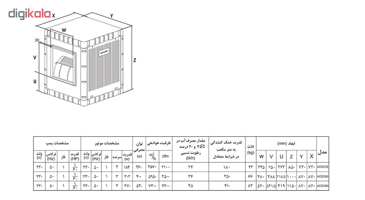کولر آبی آبسال مدل ACDC80 main 1 4