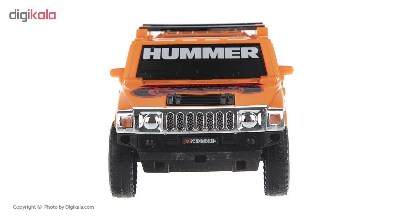 ماشین جیپ هامر اسباب بازی دورج توی مدل Hummer main 1 4
