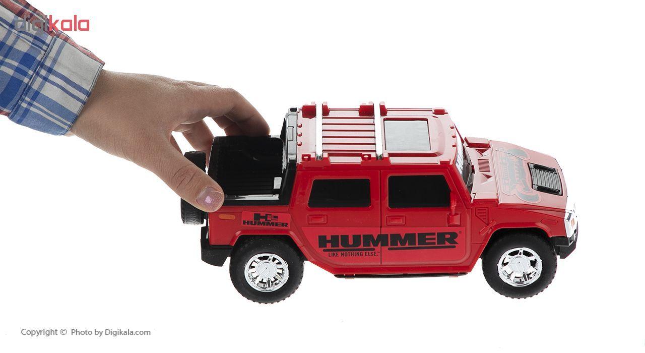 ماشین جیپ هامر اسباب بازی دورج توی مدل Hummer main 1 12