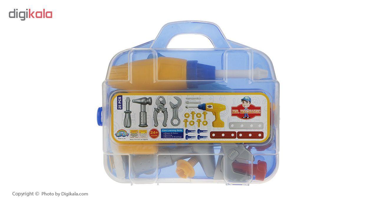 ست اسباب بازی ابزار مکانیکی کودک مدل Mr.Mechanic main 1 1