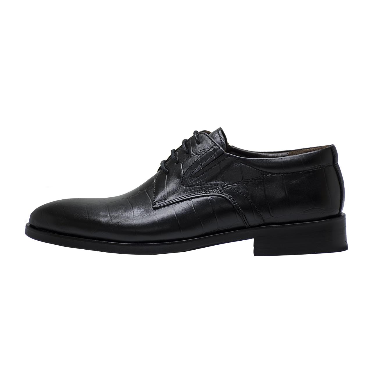 کفش مردانه رسا چرم کد 113