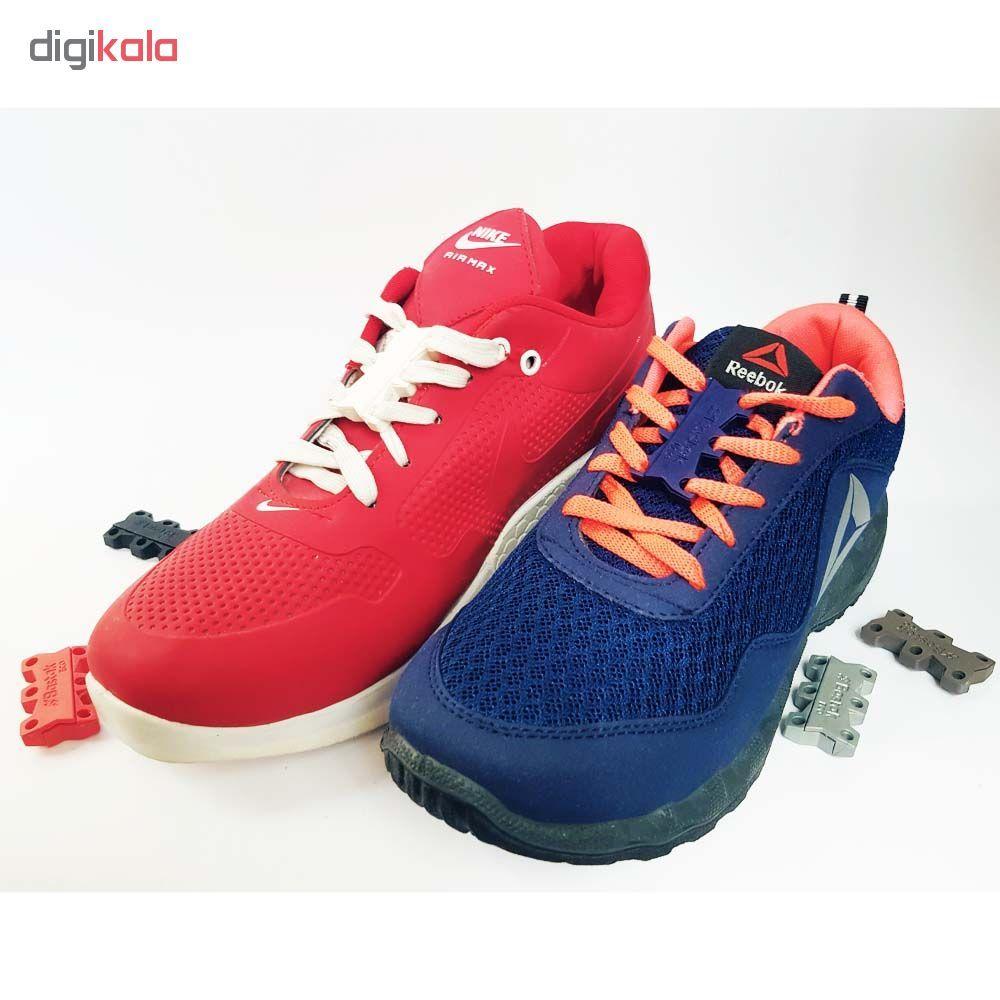 بند کفش مغناطیسی بستاک مدل اِکو E110 رنگ نقره ای main 1 5