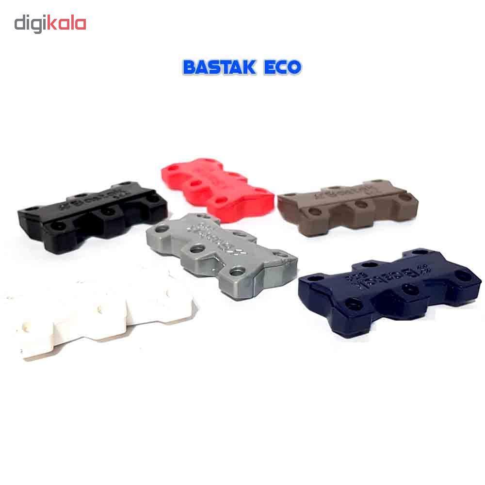 بند کفش مغناطیسی بستاک مدل اِکو E110 رنگ نقره ای main 1 9