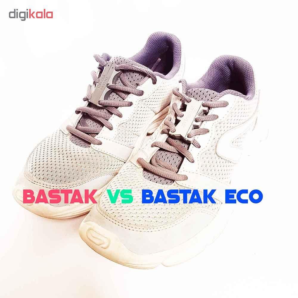 بند کفش مغناطیسی بستاک مدل اِکو E110 رنگ نقره ای main 1 11