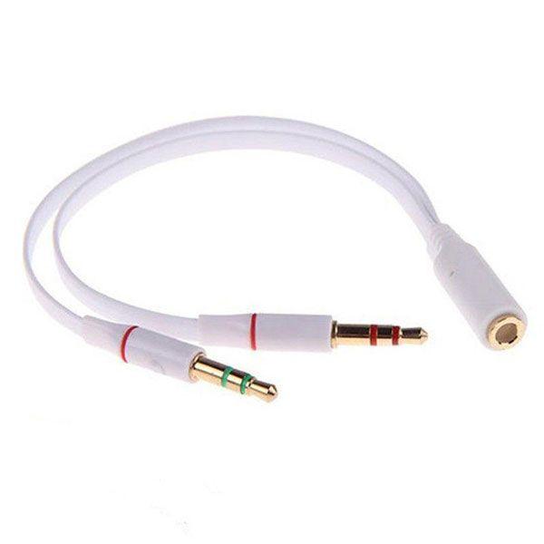 مبدل 1 به 2 کابل انتقال صدا 3.5 میلی متری مدل BAMA154