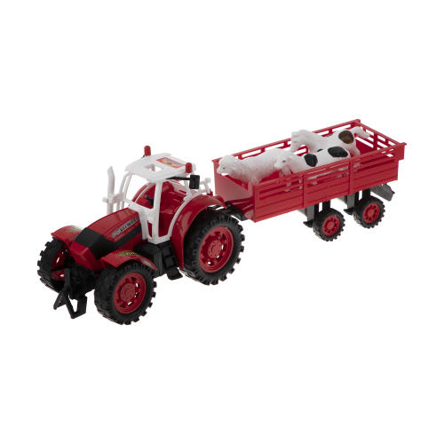 ماشین اسباب بازی دورج توی طرح تراکتور مزرعه
