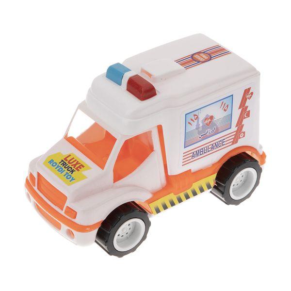 ماشین آمبولانس اسباب بازی رویدی توی مدل 02