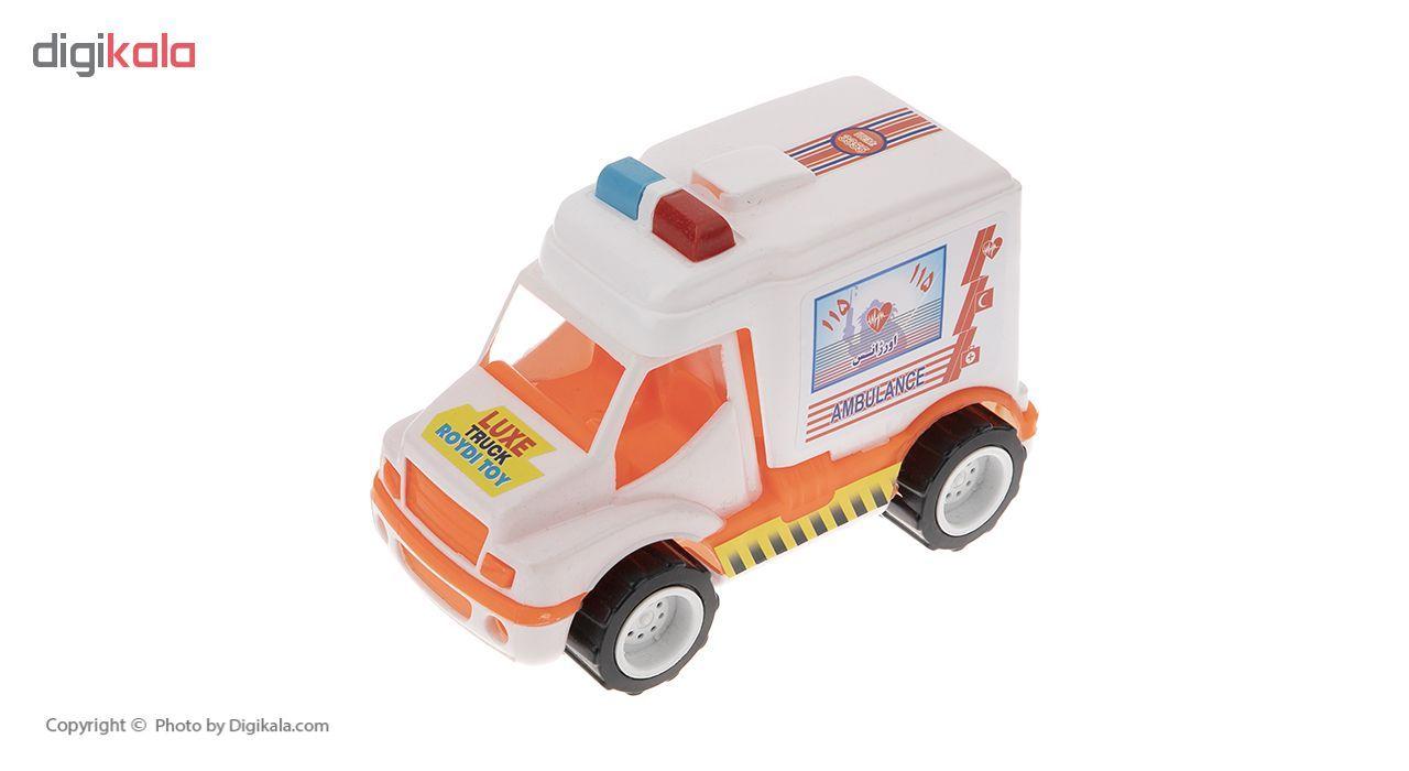 ماشین آمبولانس اسباب بازی رویدی توی مدل 02 main 1 1