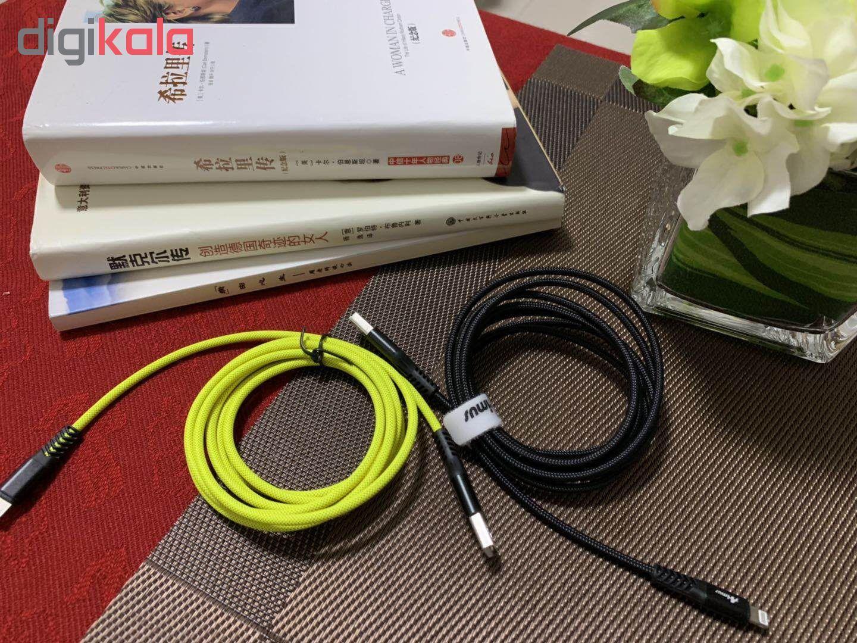 کابل تبدیل USB به لایتنینگ آیماس مدل Atough طول 1.8 متر main 1 20