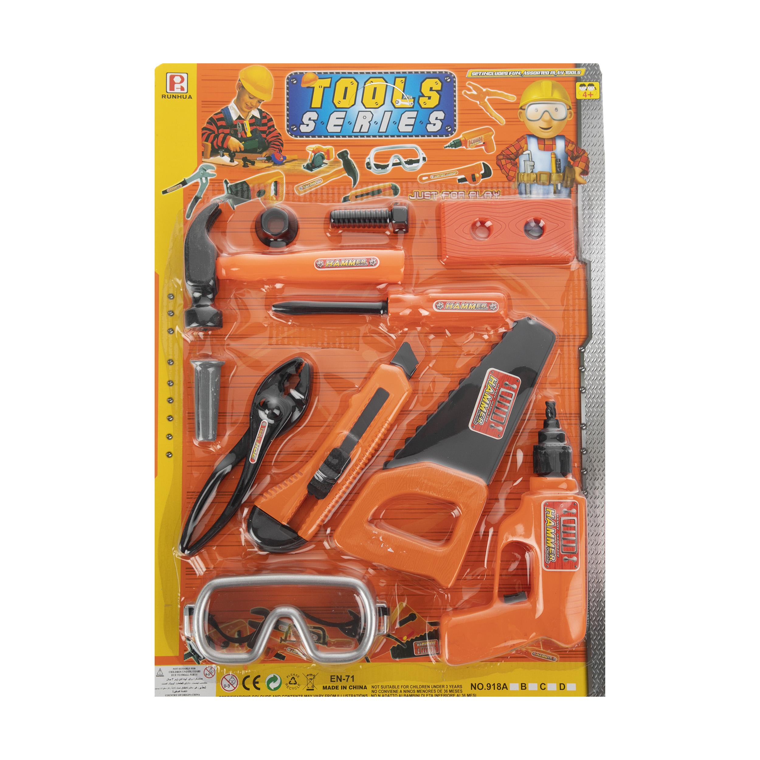 ست ابزار اسباب بازی کودک رونهوا مدل 918