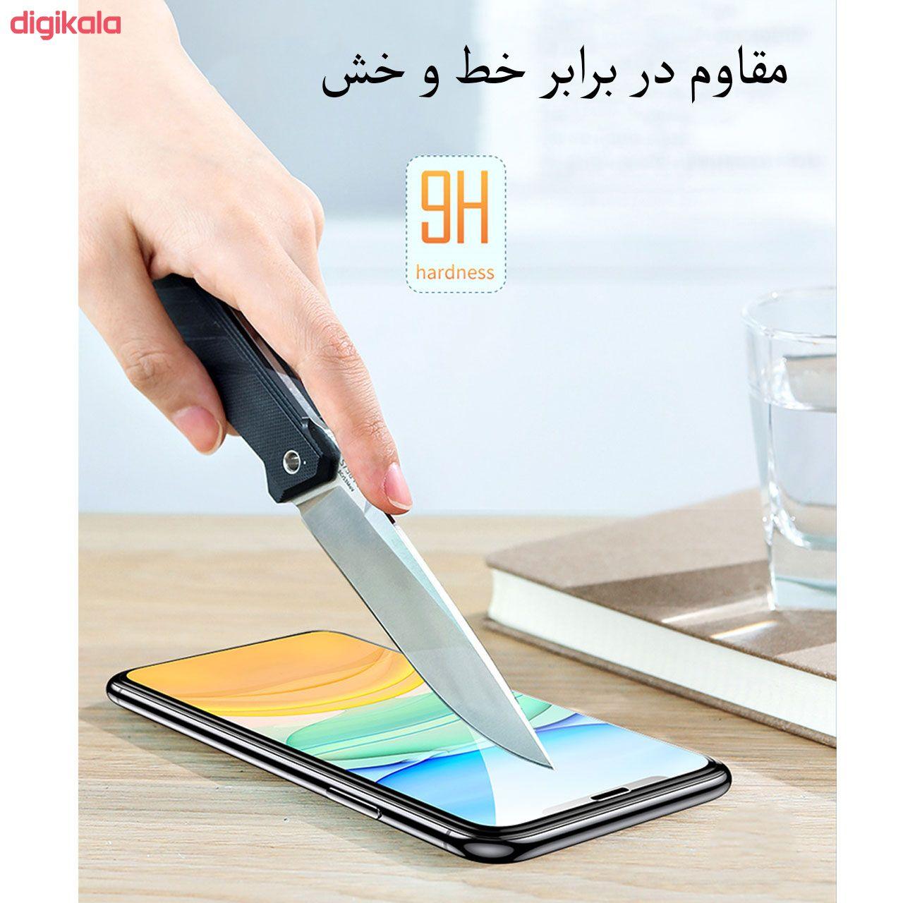 محافظ صفحه نمایش مدل FCG مناسب برای گوشی موبایل اپل iPhone 12 Pro Max بسته دو عددی main 1 7