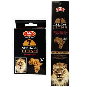 عود خوشبو کننده بیک مدل African Lions مجموعه 2 عددی