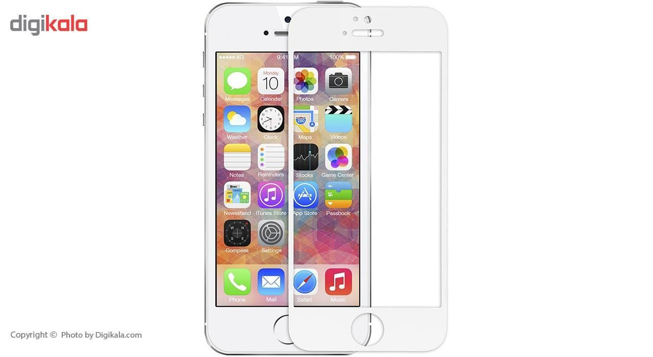 محافظ صفحه نمایش شیشه ای ریمکس مدل Tempered مناسب برای گوشی موبایل اپل iPhone 5/5s/SE main 1 1