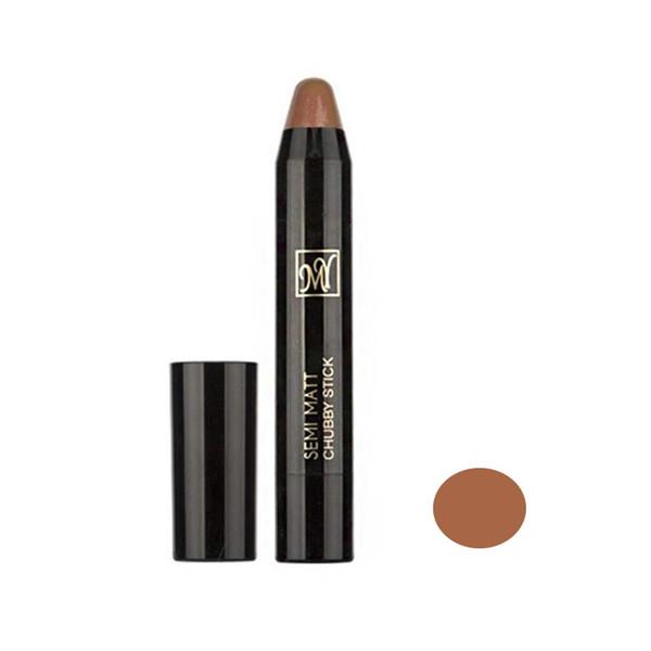 رژ لب مدادی مای مدل SEMI MATT سری Black Diomond شماره 11