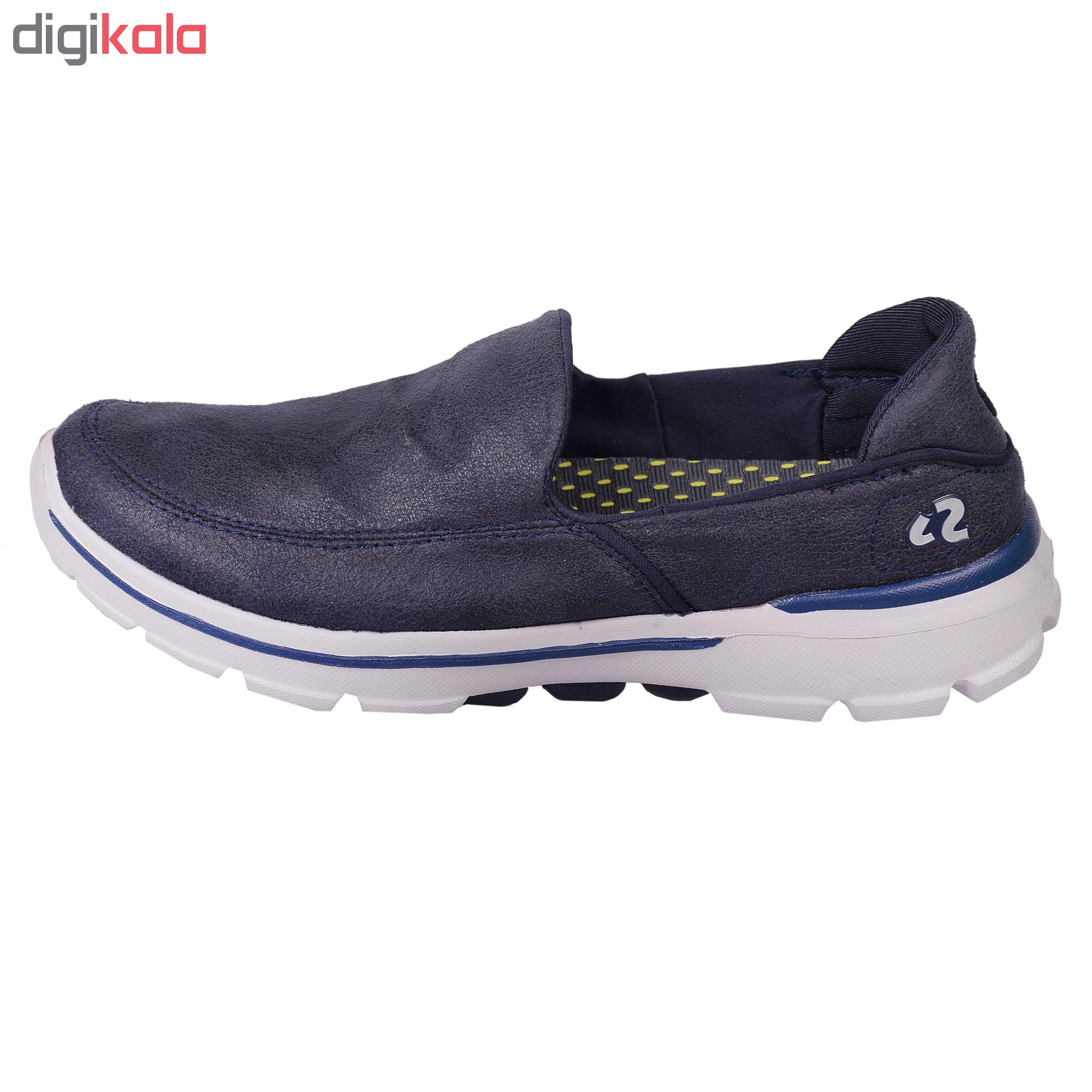 کفش مخصوص پیاده روی مردانه پرفکت استپس مدل الگانت کد 1760 رنگ سرمه ای