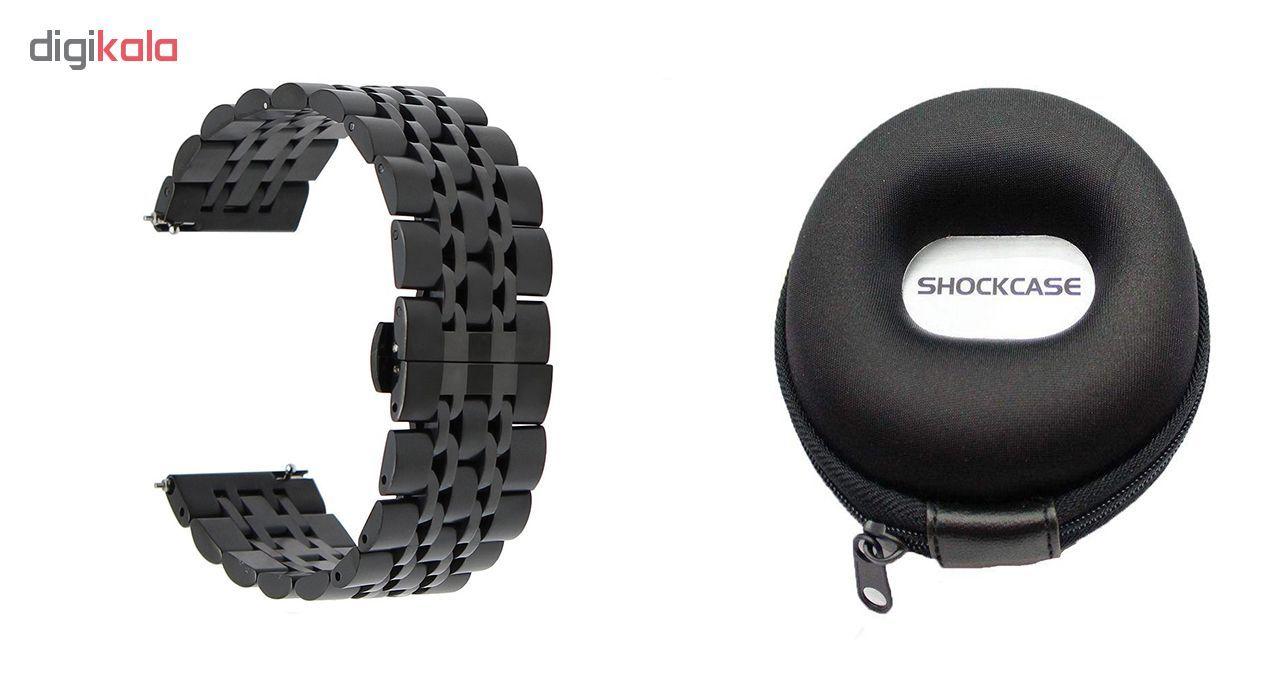 بند مدل Longiness به همراه کیف نگهداری ساعت مناسب برای ساعت های هوشمند  Gear S3 / Galaxy Watch 46mm main 1 1