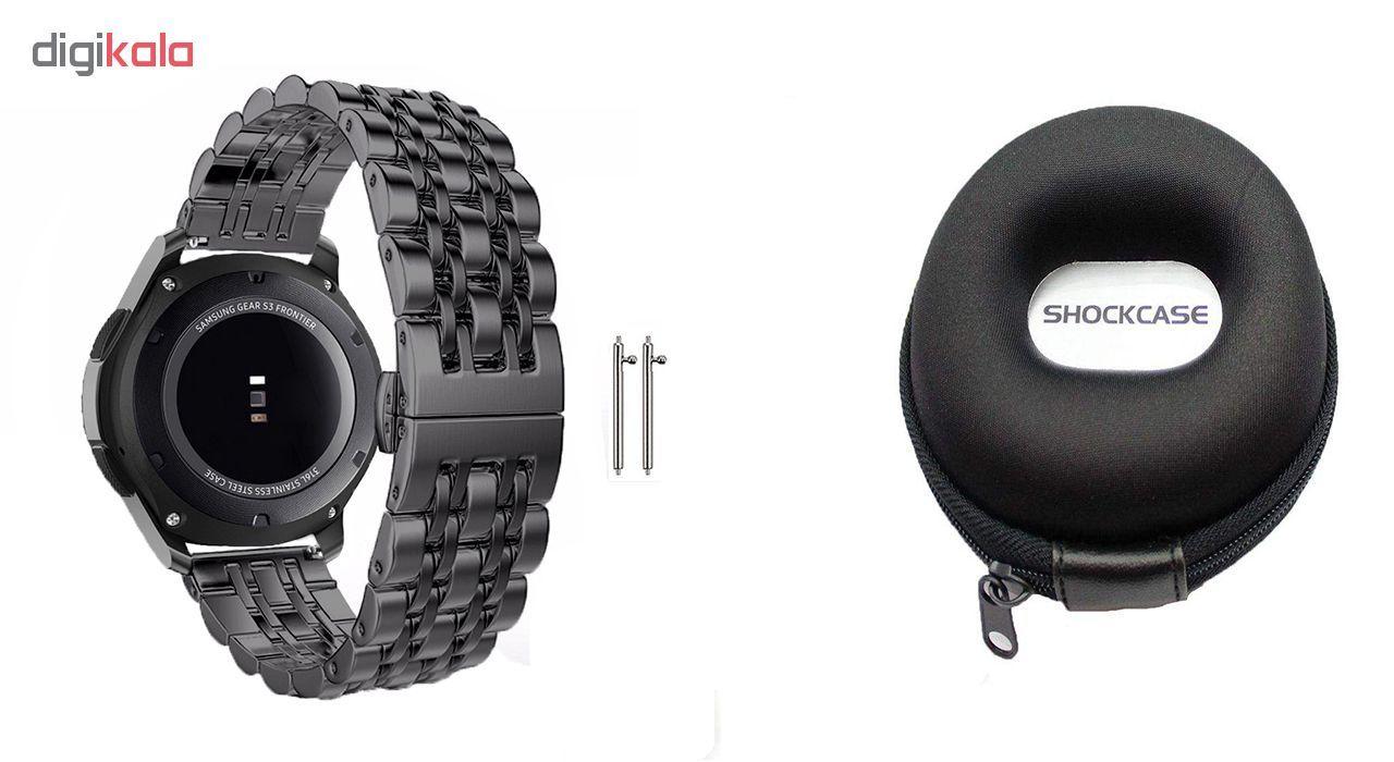 بند مدل Longiness به همراه کیف نگهداری ساعت مناسب برای ساعت های هوشمند  Gear S3 / Galaxy Watch 46mm main 1 3