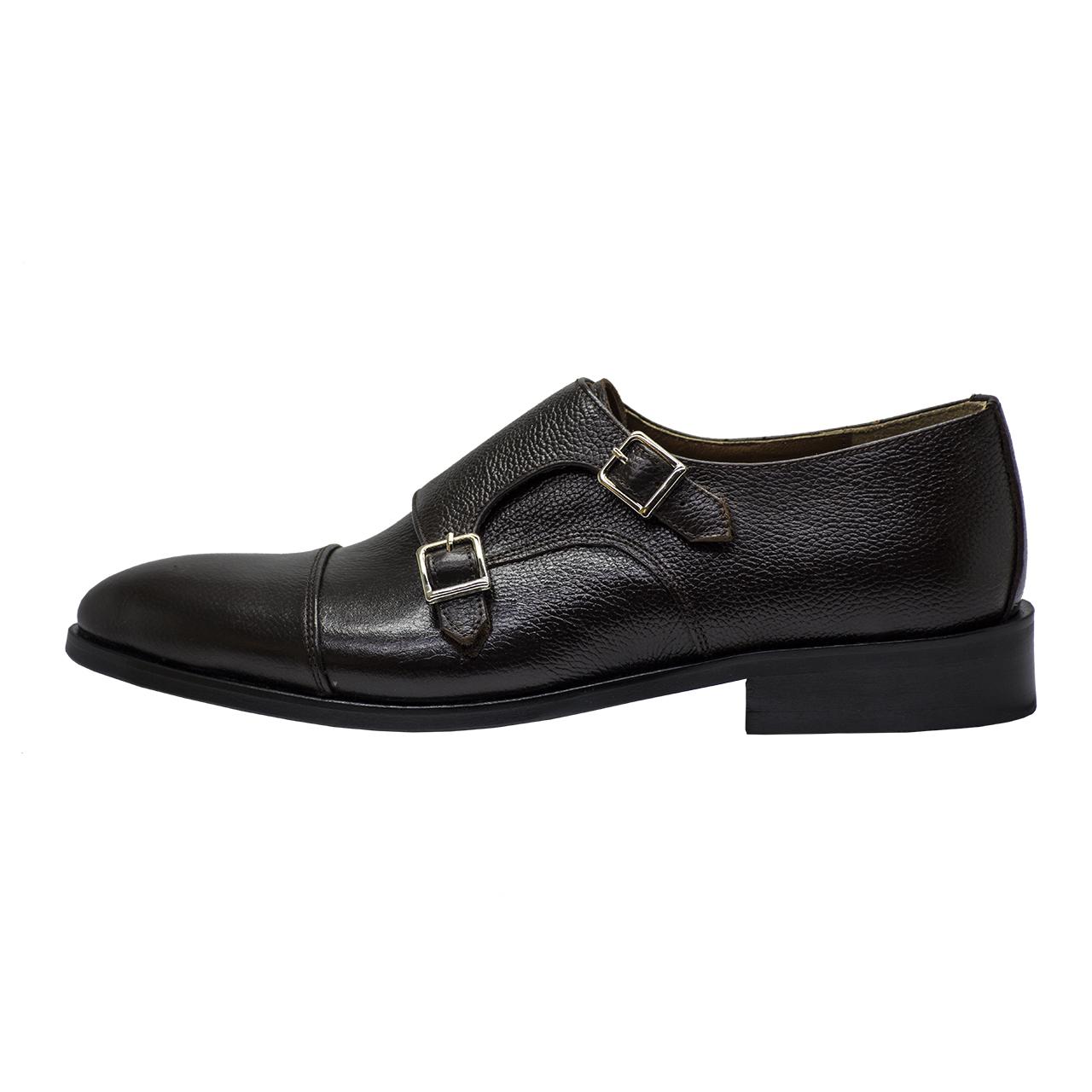 کفش مردانه رسا چرم کد 133