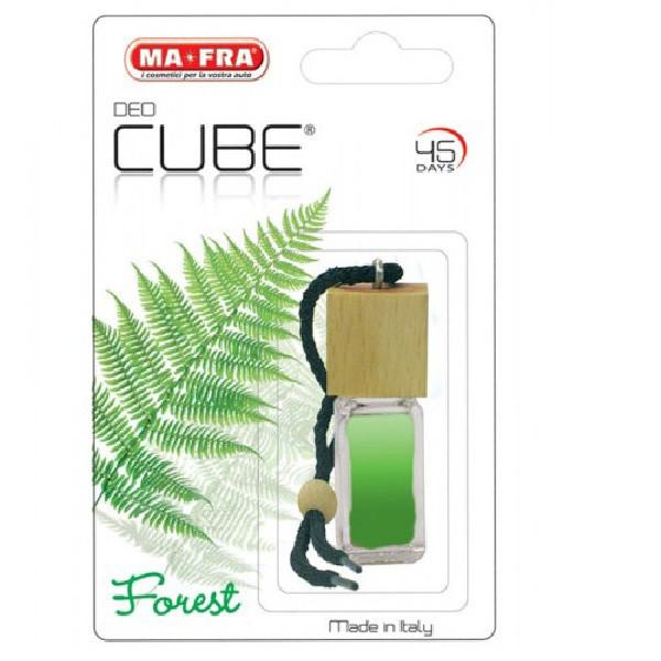 خوشبو کننده خودرو مفرا مدل Cube-Forest