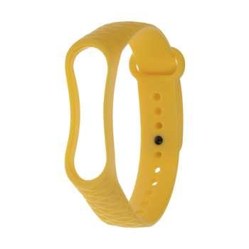 بند مچ بند هوشمند طرح Yellow کد 84 مناسب برای مچ بند هوشمند MI Band
