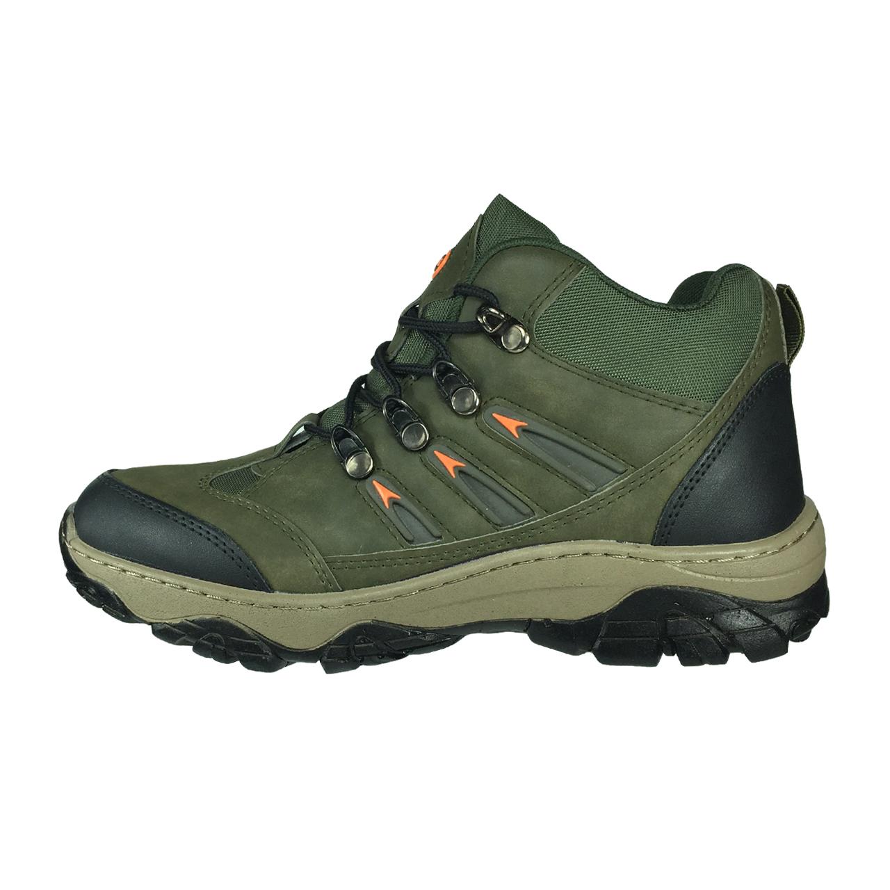 کفش کوهنوردی زنانه پاریس جامه مدل B157Z رنگ سبز زیتونی