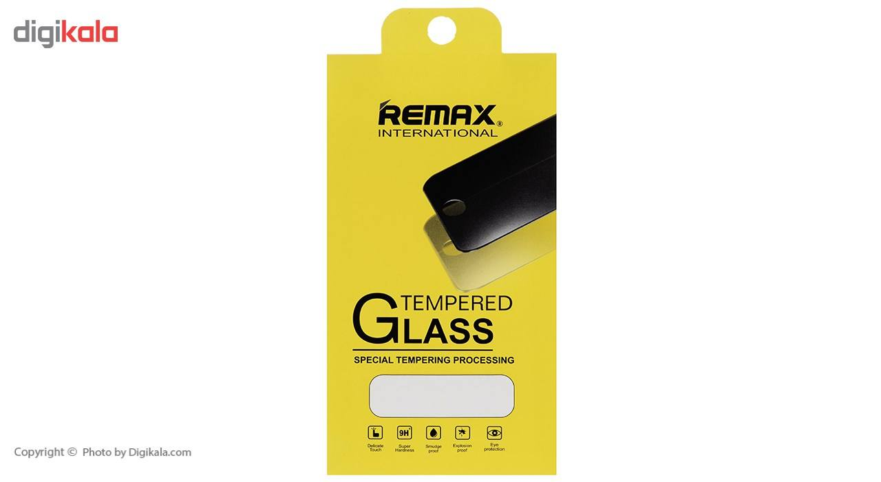 محافظ صفحه نمایش شیشه ای ریمکس مدل Tempered مناسب برای گوشی موبایل اپل iPhone 5/5s/SE main 1 3