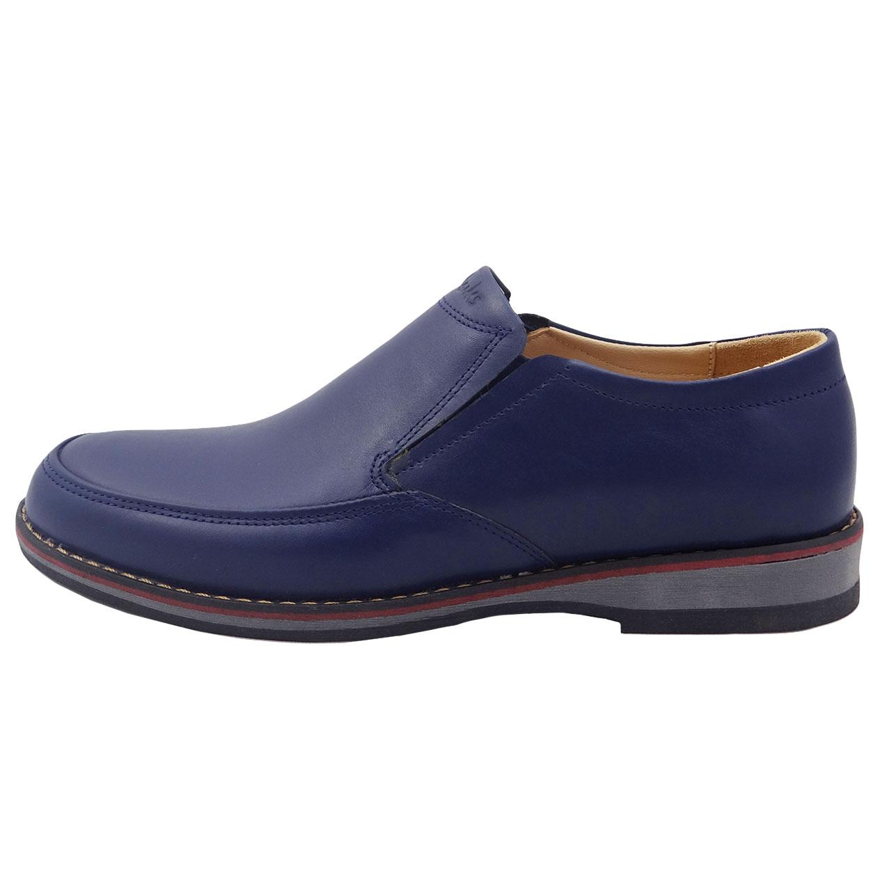 کفش چرمی مردانه مدل A16