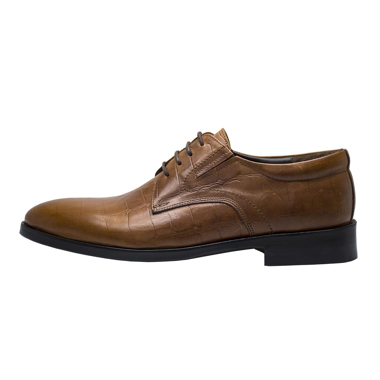 کفش مردانه رسا چرم کد 114