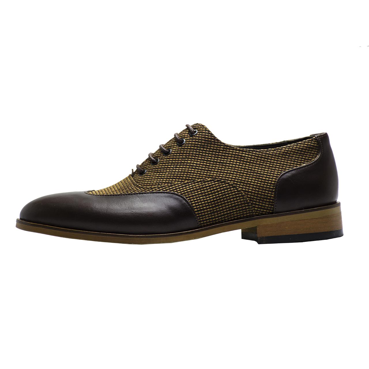 کفش مردانه رسا چرم کد 216