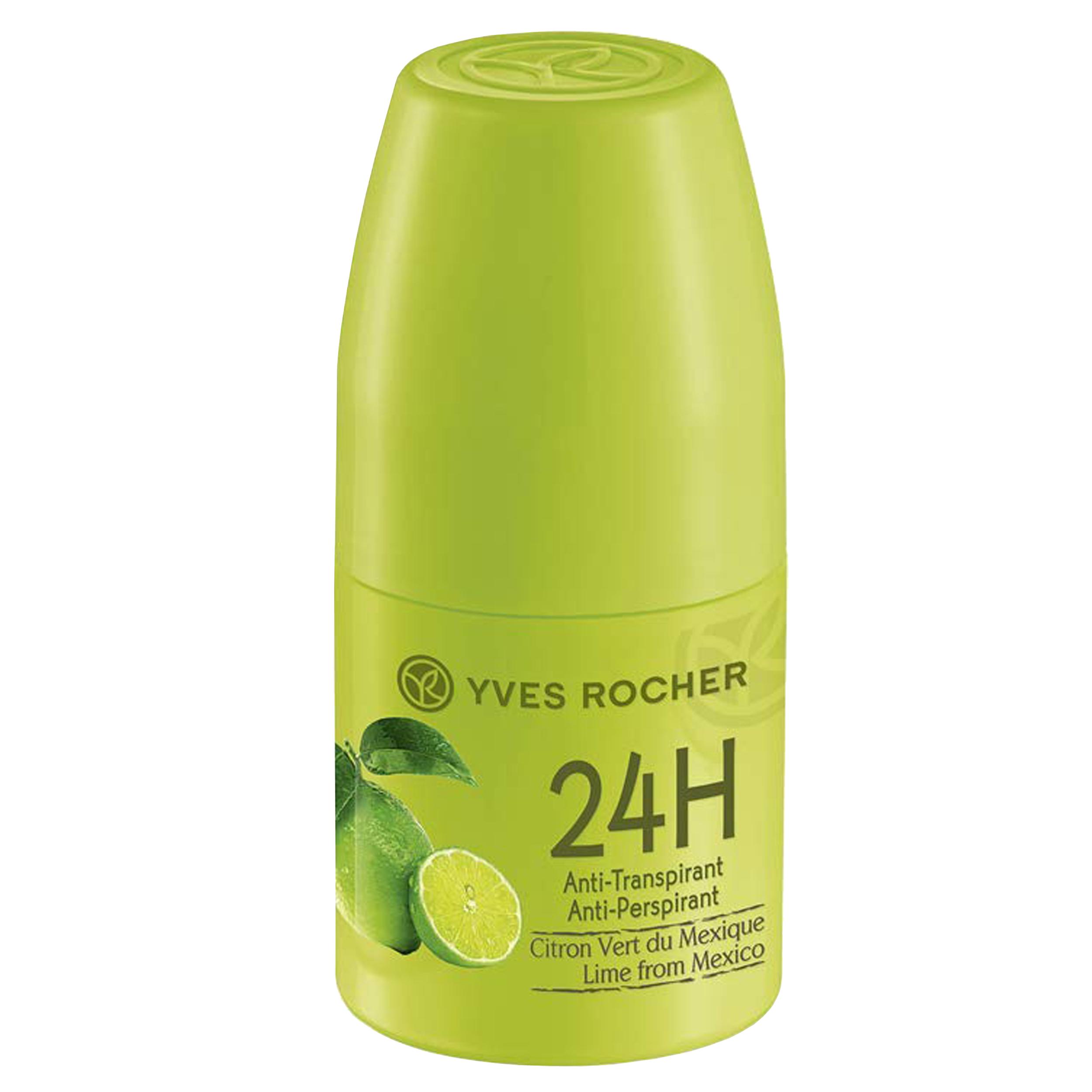 رول ضد تعریق ایو روشه مدل Lime From Mexico حجم 50 میلی لیتر