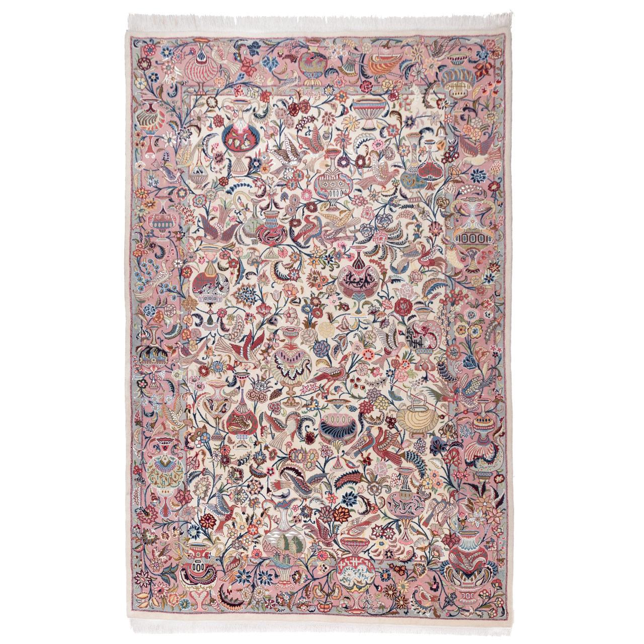 فرش دستباف شش متری سی پرشیا کد ۱۷۰۰۱۶