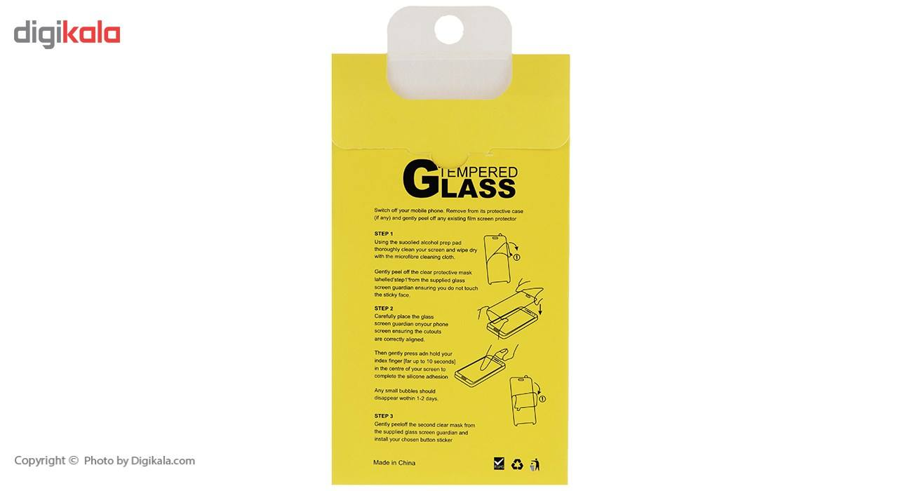 محافظ صفحه نمایش شیشه ای ریمکس مدل Tempered مناسب برای گوشی موبایل اپل iPhone 5/5s/SE main 1 4
