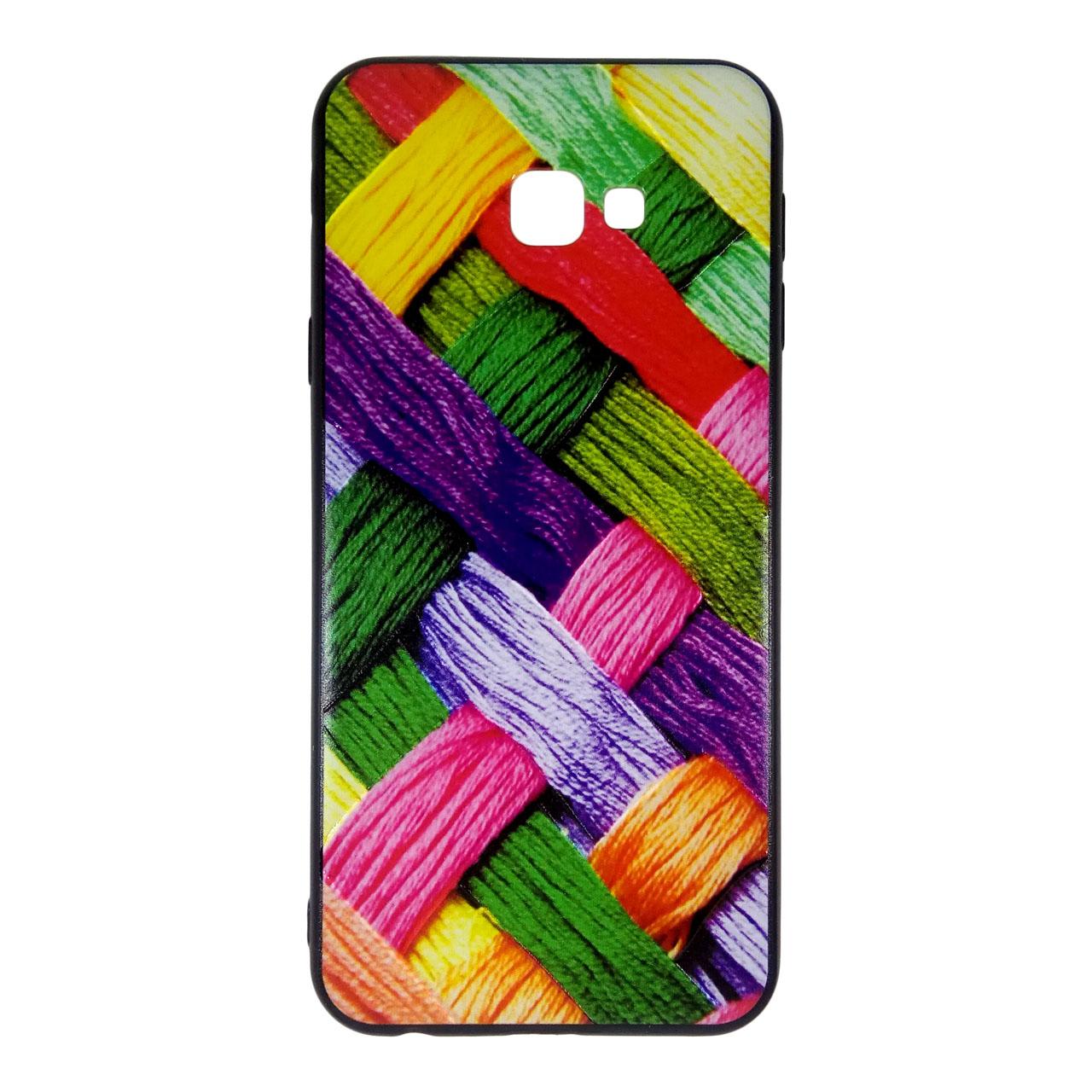 کاور آی پفت طرح بافتنی کد B07 مناسب برای گوشی موبایل سامسونگ Galaxy J4 Plus / J4 Core