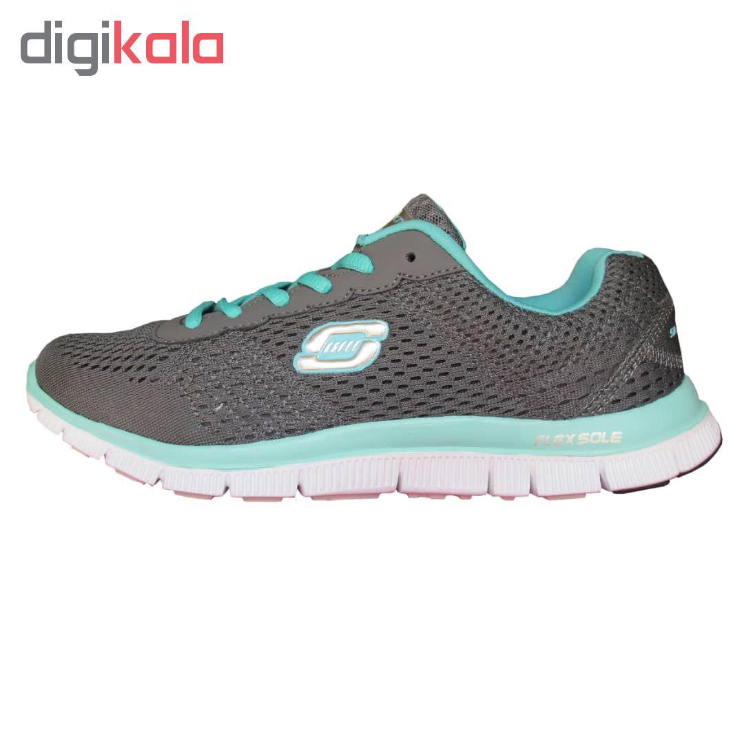 کفش مخصوص پیاده روی زنانه اسکچرز مدل go walk