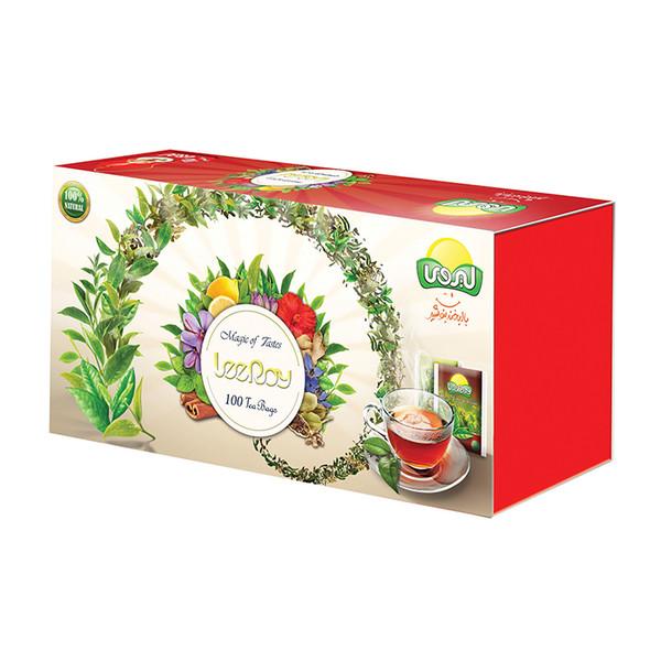 چای کیسه ای ترکیبی لیروی بسته 100 عددی