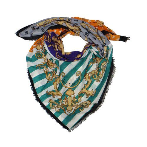 روسری زنانه مدل طرح دار کد B1