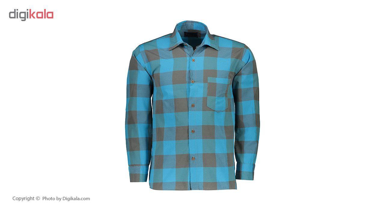پیراهن مردانه مدل P.Baz.165  P.Baz.165 Shirt For Men