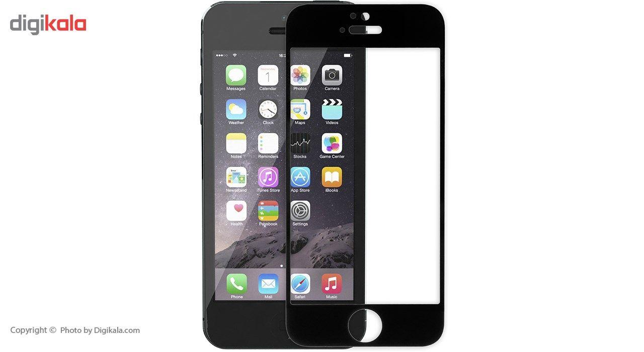 محافظ صفحه نمایش شیشه ای ریمکس مدل Tempered مناسب برای گوشی موبایل اپل iPhone 5/5s/SE main 1 5